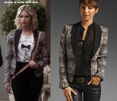 Hanna's BCBGMAXAZRIA blazer ( you can buy it here : http://www.revolveclothing.com/DisplayProduct.jsp?product=BCB-WO16=Jackets+%26+Coats=C=Blazers=s=USD_source=shopstyle-en_US=shopstyle-en_US_medium=affiliate )