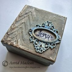 The Artistic Stamper Creative Team Blog: Altered Box