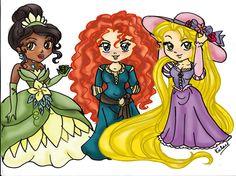 Principesse Disney by mamylory
