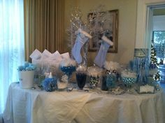 "winter wonderland baby shower | of 23: winter wonderland / Baby Shower/Sip & See ""Winter Wonderland ..."