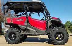 "2016 Honda Pioneer 1000 Lift Kit + 31"" Tires + Arched A-Arms - Side by Side ATV / UTV Parts Update 