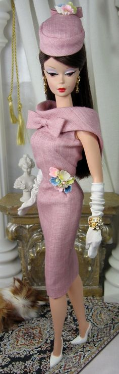 iconic sheath by Matisse Fashions for Silkstone Barbie
