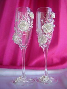 бокалы на свадьбу фото | Фотоархив