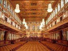 Vienna Musikverein Golden Hall