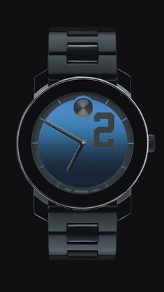 "Movado special edition ""Bold"" Watch commemorating Derek Jeter's 3000th hit"