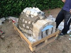 How to Make a Homemade Pizza Oven : 8 Steps (with Pictures) - Instructables Pizza Oven For Sale, Build A Pizza Oven, Diy Pizza Oven, Brick Oven Pizza, Wood Fired Pizza, Pizza Ovens, Brick Oven Outdoor, Brick Bbq, Pizza Oven Outdoor