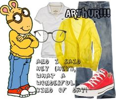 Arthur is still recognizable, thanks to PBS | Community Post: 17 Creative Kidlit-Inspired Halloween Costumes