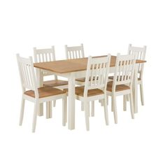 Buy Home of Style Tiverton Dining Table with 6 Chairs at Argos.co.uk, visit Argos.co.uk to shop online for Dining sets, Dining tables and chairs, Home and garden