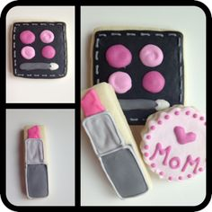 make up cookies for mother's day!