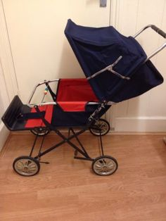 Vintage Mothercare Pram Pushchair VGC Retro Look | eBay