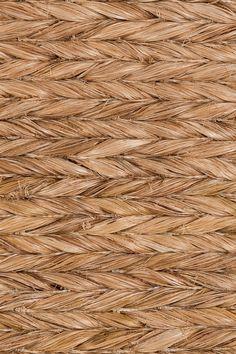 Samar handwoven abaca rug in Nutmeg colorway, by Merida.