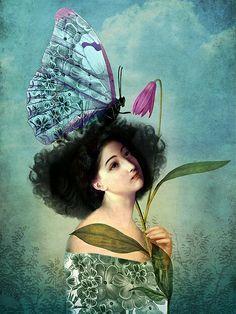 In the butterfly garden #CatrinWelzStein