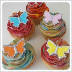 Cup Cakes .. All things bright and beautiful
