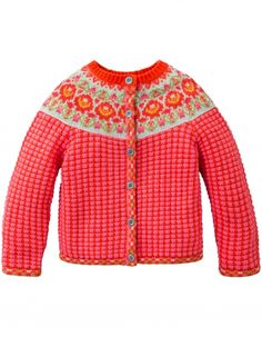 OILILY Children's Wear - Fall Winter 2014 - Cardigan Kien