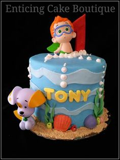 Another Bubble Guppies Cake...dont know which one to choose for my baby's 1st bday!!