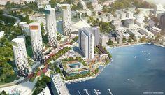 Keilaniemi & Otaniemi. The closest to Silicon Valley that Finöamd has to offer.  Espoon Keilanniemen siluetti ja ympäristö kokevat isoja muutoksia, kun asunnoiksi saneerattavan Fortumin tornitalon viereen on nousemassa kaksi liki yhtä korkeaa asuintornitaloa.