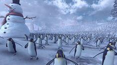 Epic Battle Simulator: 4000 Santas vs. 11000 Penguins