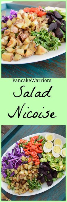 Nicoise Salad | www.PancakeWarriors.com