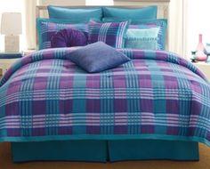 Bedding •~• blue & purple