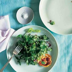 Potato and Leek Galette with Watercress #spring #easter #sidedish #sides