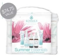 New - Kosmea Summer Essentials Collection Gift Set