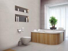 Horizon Pearl Matt Glazed Ceramic Wall Tile 300x900mm - Wall Tiles - Kitchen #italtiledreamhome Tiles, Ceramics, Home, Ceramic Wall Tiles, Wall Tiles, Wall, Glazed Ceramic, Kitchen Tiles, Bathtub