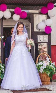 Svadobné šaty 38 - Košice, predám