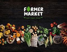 "Auf @Behance habe ich dieses Projekt gefunden: ""FARMER MARKET 