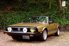 1977 Lancia Scorpion - Exactly like mine except for the wheels. Man, I miss that car....