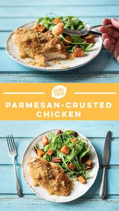 """Easy parmesan-crusted chicken recipe 