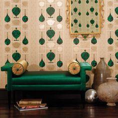 Art Deco Interior Design Ideas | Art deco styling ideas: Decorating Ideas: Interiors | Red Online #decoracion #tapizado