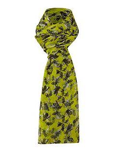 Mary Portas Bee print scarf