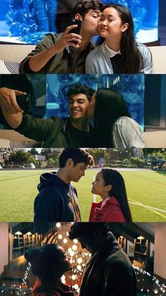 Peter and Lara Jean Noah centineo and Lana condor To all the boys I've loved before Lara Jean, Cute Couples Goals, Couple Goals, Love Movie, Movie Tv, Films Netflix, Jean Peters, Love Boyfriend, Montage Photo