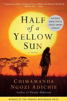 Chimamanda Ngozi Adichie, Half Of A Yellow Sun | #currentlyreading