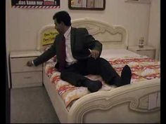 Quick Clip------Mr Bean tests a bed in a furniture shop. Johnny English, Pee Wee Herman, Mr Bean, Furniture Making, Make It Simple, Beans, Shop, Beans Recipes, Store