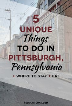 Our Honeymoon - Unique Things to Do in Pittsburgh, Pennsylvania — 6 Unique Places to Eat at in Pittsburgh - Travel Tips - Travel Hacks - Travel Guide - Pittsburgh, PA Highlights - Unique Activities in Pittsburgh, Pennsylvania Vacation Resorts, Vacation Spots, Vacation Ideas, Pittsburgh Pa, Pennsylvania Pittsburgh, Pennsylvania 6, Pittsburgh Skyline, Stuff To Do, Things To Do