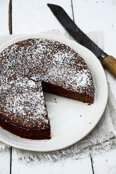 From The Kitchen: Whole Orange, Chocolate, Almond Cake with Orange Cinnamon Cream (gluten free) Chocolate Almond Cake, Almond Cakes, Chocolate Recipes, Chocolate Orange, Gluten Free Desserts, Just Desserts, Dessert Recipes, Gateaux Cake, Pumpkin Cheesecake