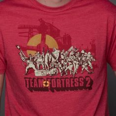 J!NX : Team Fortress 2 Logo Premium Tee - Clothing Inspired by Video Games & Geek Culture