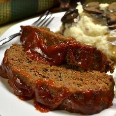 Classic Meatloaf | The secrets to this meatloaf are very finely diced vegetables that give it moisture and flavor, and mixing with a light touch.