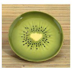 "YTC Summit International Kiwi 6.25"" Dessert Plate"