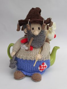 With this tea cosy will you come a-Waltzing Matilda, with me? http://www.teacosyfolk.co.uk/Australian-Swaggie-Tea-cosy-p-167.php