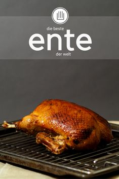 Die beste Ente der Welt – cookin' 001 the best duck in the world – stress combined with the whole duck recipes of two experts Hamburger Meat Recipes, Sausage Recipes, Egg Recipes, Crockpot Recipes, Chicken Recipes, Dinner Recipes, Vegetable Drinks, Vegetable Recipes, Vegetarian Recipes