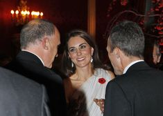 Kate Middleton - The Duke And Duchess Of Cambridge Attend A Dinner For The National Memorial Arboretum Appeal