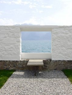 perfect in all its simplicity - Villa le Lac in Switzerland by Le Corbusier                                                                                                                                                                                 More
