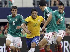 Mexico upsets Brazil