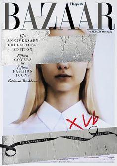 15th Anniversary Harper's Bazaar Australia. By Victoria Beckham.