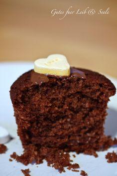 Gutes für Leib & Seele: Schoko-Kokos-Muffins....Love is in the Air...