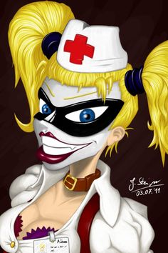 Harley Quinn Nurse, for Rob