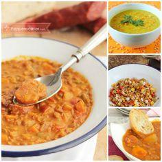 8 recetas de lentejas que adorarás: lentejas con chorizo, con verduras, con curry, lentejas con Thermomix, ensalada de lentejas, con almendras...