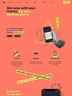 The Best 583 App Landing Page Design Examples - Lapa Ninja Best Landing Page Design, Landing Page Examples, Best Landing Pages, App Landing Page, Web Design, Layout Design, High Touch, Audio Design, Web Inspiration